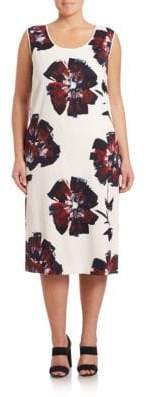 Lafayette 148 New York Bloom-Print Palmer Dress