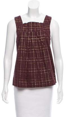 Marc by Marc Jacobs Sleeveless Metallic Top