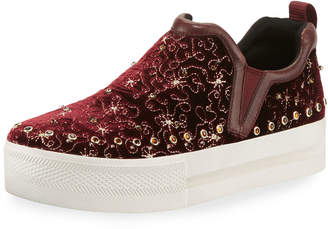 Ash Jetset Beaded Platform Sneakers