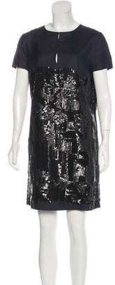 Tory Burch Sequined Knee-Length Dress