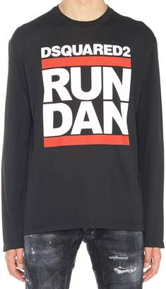 DSQUARED2 'run Dan' T-shrit