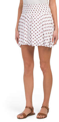Juniors Falana Printed Skirt