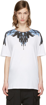 Marcelo Burlon County of Milan SSENSE Exclusive White Ramira T-Shirt $240 thestylecure.com