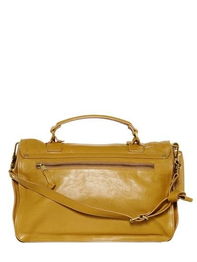 Proenza Schouler Ps1 Medium Lux Leather Satchel Bag