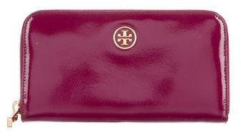 Tory Burch Tory Burch Glazed Leather Robinson Wallet