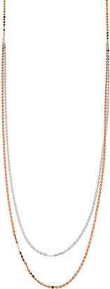 Lana 14k Long Duo Nude Chain Necklace