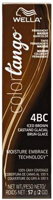 Wella 4BC Iced Brown Permanent Masque Hair Color