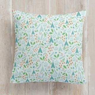 Happy Forest ll Square Pillow