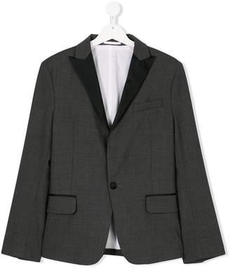 DSQUARED2 TEEN peaked lapel blazer