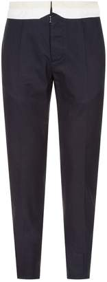 Maison Margiela Contrast Trim Trousers