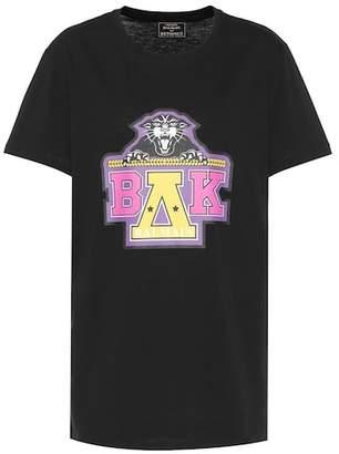 Balmain X Beyoncé printed cotton T-shirt