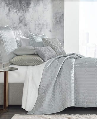 Hotel Collection Lithos King Quilted Coverlet, Bedding