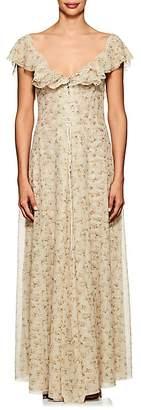 Brock Collection Women's Dora Tulle Maxi Dress