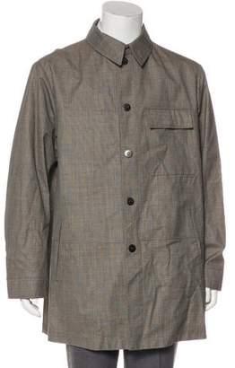 Giorgio Armani Wool & Silk Coat