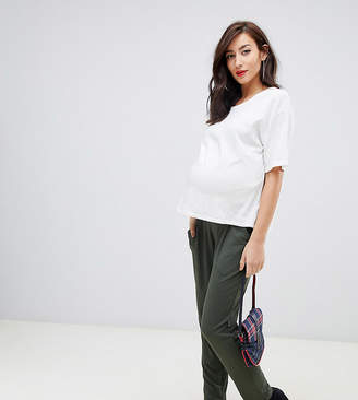Asos DESIGN Maternity ultimate jersey peg pants