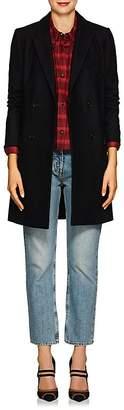 Etoile Isabel Marant Women's Iken Wool-Blend Felt Double-Breasted Coat