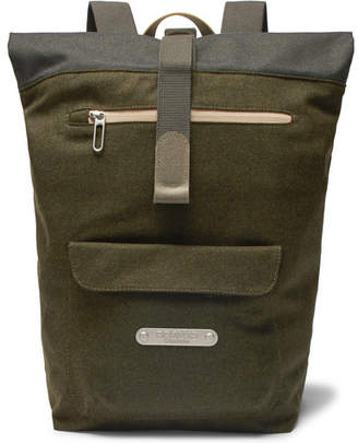 Brooks England Rivington Felt And Canvas Backpack