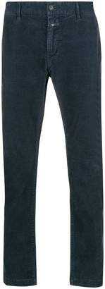 Closed corduroy trousers