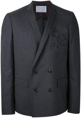 Kolor embroidered two-piece suit