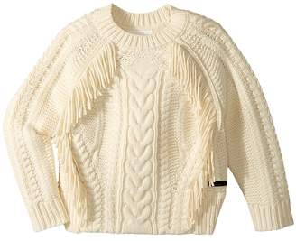 Burberry Rib Jumper Girl's Sweater