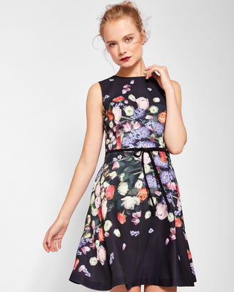 Kensington Floral bow detail shift dress $289 thestylecure.com