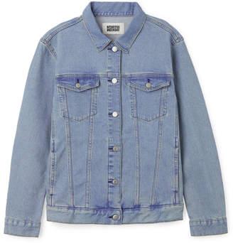 Weekday Double Denim Jacket - Blue