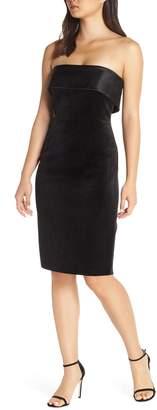 Eliza J Strapless Shift Dress
