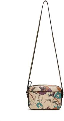 Factory GUESS Women's Laken Metallic Crossbody Bag