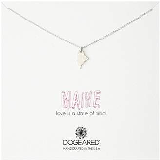 Dogeared State of Mind Maine Necklace
