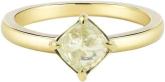 "Diamond in the Rough Rough Diamond Yellow Gold Ring ""Moderne"""