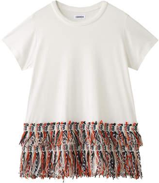 Coohem (コーヘン) - コーヘン ETHNIC TWEED Tシャツ(FRINGE)