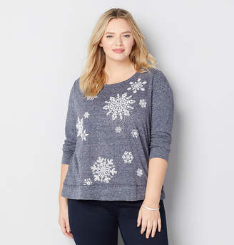 Avenue Snowflake Sweatshirt