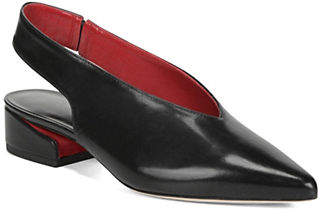 Via Spiga Darwin Leather Slingback Pumps