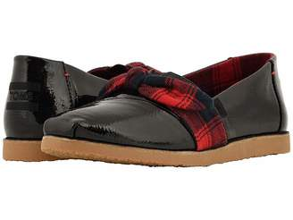 Toms Alpargata (Black Synthetic Leather