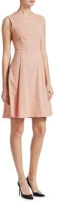 Modern Tea Flare Dress