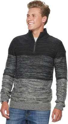 Men's Urban Pipeline Textured Quarter-Zip Sweater