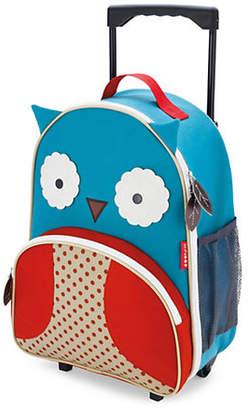 Skip Hop Zoo Kids Rolling Luggage - Owl
