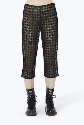 Marc Jacobs Embroidered Crop Pant