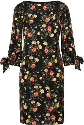 Banana Republic Floral Tie-Sleeve Shift Dress