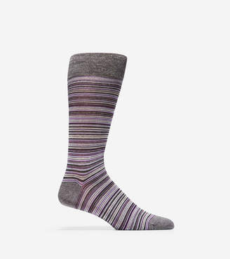 Cole Haan Multi-Stripe Crew Socks