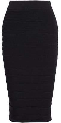 Cushnie et Ochs Stretch-Ponte Midi Skirt
