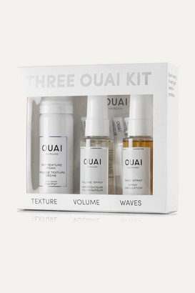 Ouai Three Kit - Colorless