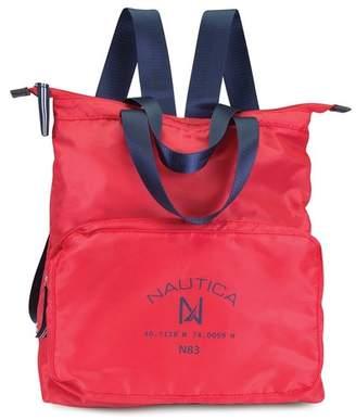 Nautica Logo Pocket Backpack