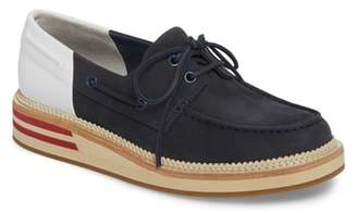 Sperry Cloud Colorblocked Boat Shoe