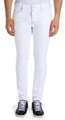DSQUARED2 Mid Rise Cool Guy Straight Fit Jeans