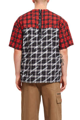 Opening Ceremony Plaid Short Sleeve Top