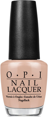 OPI Nail Lacquer, Pale to the Chief $10 thestylecure.com