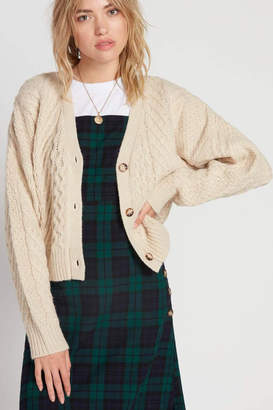Volcom Cable Knit Cardigan