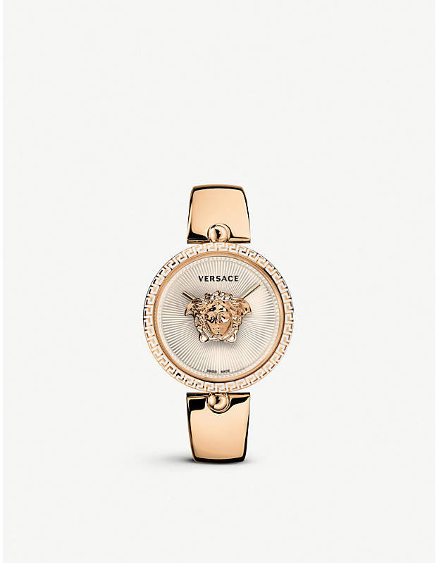 675000 Palazzo Empire rose gold-plated stainless steel quartz watch