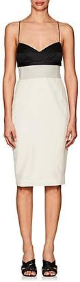 Narciso Rodriguez Women's Wool & Silk Fitted Slipdress - White